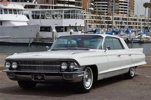 '62 Sedan Deville, 26,000 miles, incredibly original, bucket seats, A/C, etc