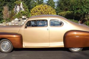 Custom 1947 Lincoln rebodied onto a 1989 Cadillac Allante Appraised at $45,000