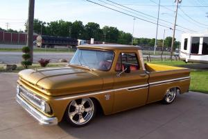 1964 C10 Short bed V8 Fleetside AC Air ride  Bagged SWB Fleet Big Window BBW