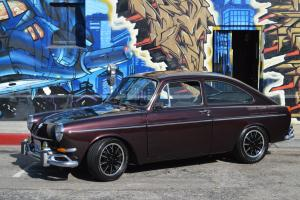 1967 VW Type III Fastback, Burgundy Metallic, Fully Restored with upgrades