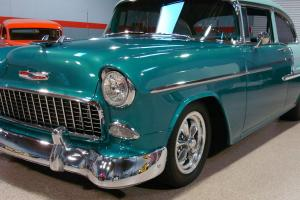 Chevrolet 1955 Belair Sedan, resto mod, sreet rod, hot rod, pro touring