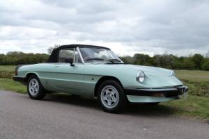 1987 ALFA ROMEO SPIDER S3, LOVELY CONDITION