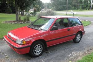 1987 Honda Civic Si