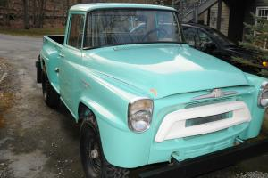 1957 International Harvester 4X-A120 Step Side Pick Up Truck 1 Ton 4 wheel Drive