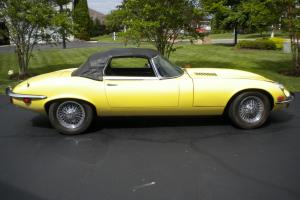 Jaguar E-Type Roadster 1972 V12 XKE Series III Convertible