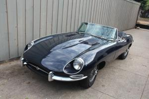 1968 Jaguar E-type XKE Series 1.5 roadster  1 1/2 ORIGINAL. 3 owners 33k miles Photo