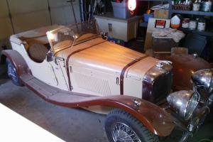 1937 Jaguar ss100 Complete kit car! Photo