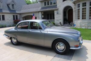 1966 S type Jaguar Sedan right hand drive silvert in excellent condition Photo