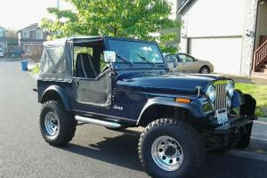 1984 Jeep CJ7 Restored, original, NO RUST, Laredo