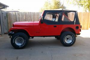 1981 Jeep CJ7 Base Sport Utility 2-Door 5.0L