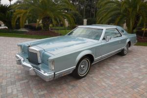 1978 Lincoln Mark V DIAMOND JUBILEE 7.5L