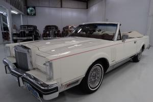 1983 LINCOLN CONTINENTAL MARK VI CONVERTIBLE, 29,162 ACTUAL MILES!