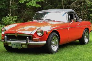 1973 MGB Convertible Photo
