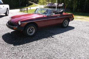 1978 MG MGB Convertible   LOW RESERVE!!!!!