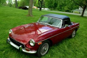 1972 MGB rebuilt engine and many new upgrades
