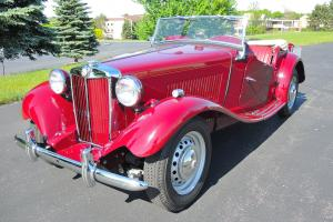 1952 MG TD MKII Very Rare Supercharged! Concours Restoration, Spectacular! Photo