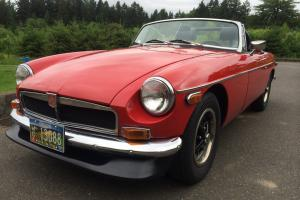 Professionally Restored 1974 MG MGB Mark III - Chrome Bumper Photo