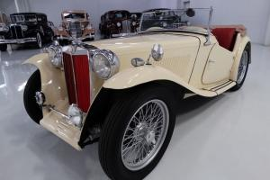 1946 MG TC ROADSTER, EXTENSIVE COSMETIC AND MECHANICAL FRESHENING! Photo