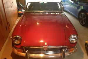 1973 MG MGB Chrome Bumper Photo