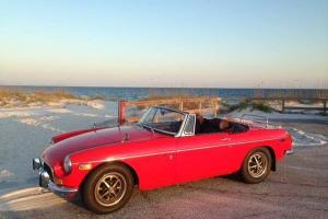 1971 MGB - Red - New Interior Photo