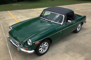 1974 MGB Roadster Overdrive! Hardtop!  34,000 Mile Documented California MGB