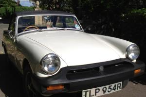 1977 MG MIDGET 1500 White 45k Original Classic Car mini-roadster mgb  Photo
