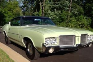 Classic 1971 Oldsmobile Cutlass Rocket 350 V8 original unrestored southern car