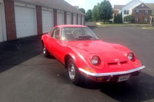 OPEL GT 78000 Original Miles 2 Owner Great Condition NO RESERVE