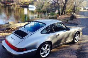1989 911 COUPE 5SP SHOWROOM MINT LOW MILES RARE CARRERA 4 AWD CLEAN CAR FAX