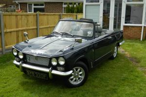 triumph vitesse convertible mk1 2l  Photo