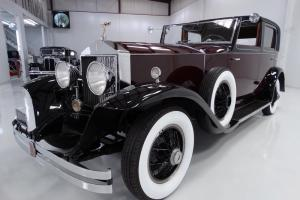 1928 PHANTOM I ROLLS ROYCE SPRINGFIELD ST. MARTIN BREWSTER TOWN CAR Photo