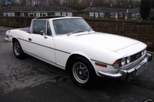 1974 TRIUMPH STAG AUTO WHITE( Many spare parts included)  Photo