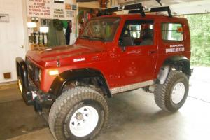 1987 Suzuki Samurai Sweet lifted, MANY new parts