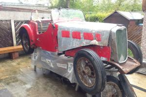 Singer Le Mans 9 Special Speed 1935 Restoration Project, barn find, rare model  Photo