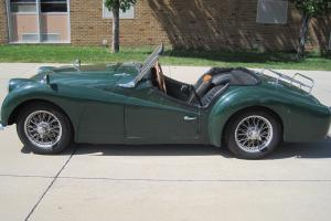 1958 Triumph TR3 Convertible Photo