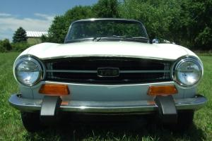 Beautiful 1974 TR-6 Photo