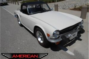 1976 Triumph TR6 Restored and Gorgeous! New Paint Top Interior Runs/Drives Great Photo