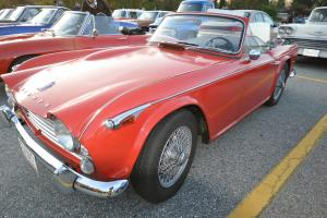 Triumph TR4A Photo