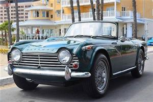 '67 TR4A, 36k miles, original paint. Very honest and original
