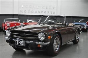 Strong Solid Accident free Rust Free Southern States TR6 with Strong Drive!!