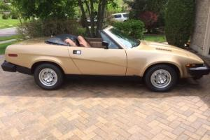 1980 Triumph TR7 Base Convertible Photo