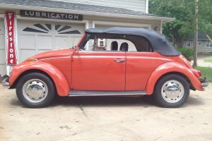 1970 VOLKSWAGEN BEATLE BUG CONVERTIBLE SWEET LITTLE CAR READY TO GO NO ISSUES
