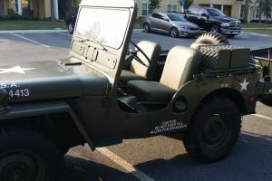 Restored 1952 M38 Army Jeep with 1952 M100 Army Trailer many other items