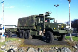 Fully Restored M35A2C With Winch and M66 Ring mount