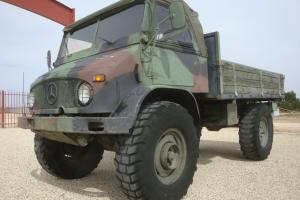 No Reserve Very Unique Unimog 404 Expedition Vehicle Mercedes Turbo Diesel 4x4