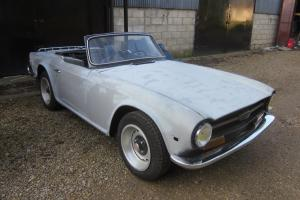 1972 Triumph TR6 LHD Project Car. Runs Drives L@@K Photo
