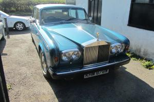 rOLLS rOYCE sILVER wRAITH 11 1981 LONG mot HISTORY Rare to find L.W.BASE  Photo