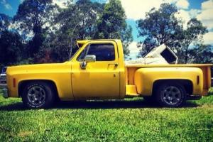 1976 Chevrolet C10 U S A Stepside Pickup