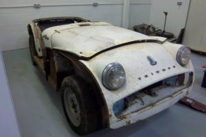 Triumph TR3A 1959 Restoration Project or Spares