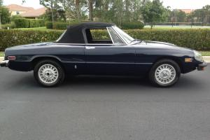 Low Mileage Rare Navy Blue Spider with Dellorto Carbs